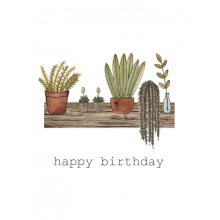 Happy Birthday Plants